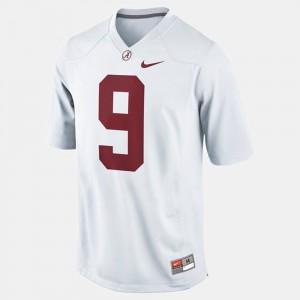 Amari Cooper Alabama Jersey Youth(Kids) White #9 College Football 761221-232