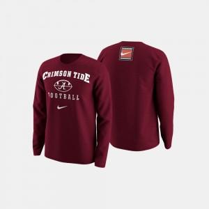 College Football Retro Pack Crimson For Men's Alabama Sweater 561080-441