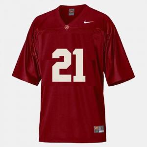Red #21 College Football Dre Kirkpatrick Alabama Jersey Men 556933-957