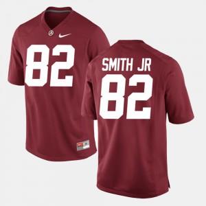 Alumni Football Game Crimson #82 For Men's Irv Smith Jr. Alabama Jersey 621561-246