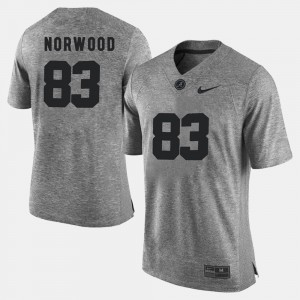 #83 Kevin Norwood Alabama Jersey Gridiron Limited Gray Mens Gridiron Gray Limited 626929-331