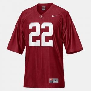 For Kids #22 College Football Mark Ingram Alabama Jersey Red 581010-723