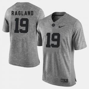 Reggie Ragland Alabama Jersey Mens Gridiron Gray Limited Gridiron Limited #19 Gray 799716-781