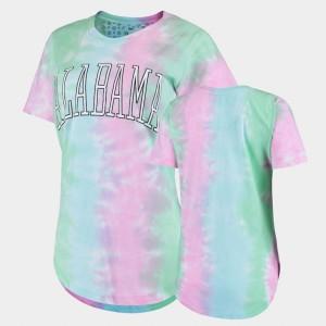 Tie Dye Alabama T-Shirt Women's Rainbow Bay 263122-590