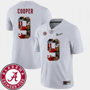 #9 Pictorial Fashion White Amari Cooper Alabama Jersey Football For Men's 130221-316