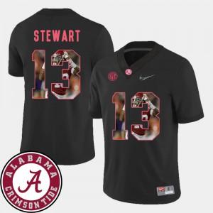 Football ArDarius Stewart Alabama Jersey Black Pictorial Fashion For Men #13 639048-748