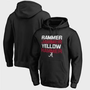 Alabama Hoodie Men Black Bowl Game Hometown Collection Rammer Jammer Fanatics 955031-305