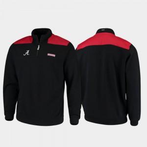 Men's Alabama Jacket Quarter-Zip Shep Shirt Black 447768-622