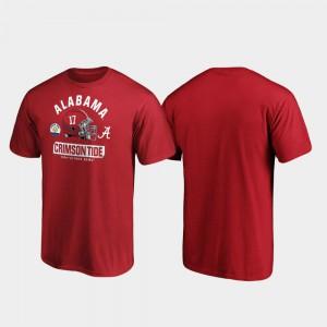Crimson Spike 2020 Citrus Bowl Bound Men's Alabama T-Shirt 345677-682