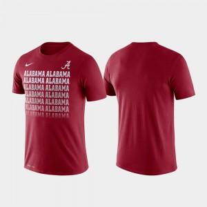 Crimson Fade Men Performance Alabama T-Shirt 189696-344