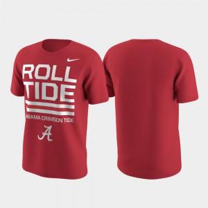 Local Verbiage Performance Alabama T-Shirt Men Crimson 986943-541