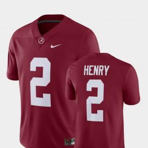 Derrick Henry Alabama Jersey For Men's #2 Player Crimson Alumni Football Game 577980-561