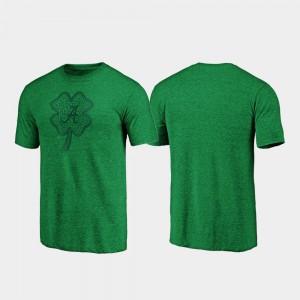 Green St. Patrick's Day Alabama T-Shirt Celtic Charm Tri-Blend Mens 364321-188