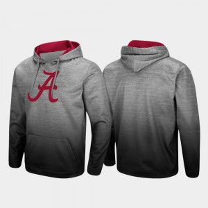 Alabama Hoodie Pullover Heathered Gray Men Sitwell Sublimated 593622-240