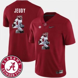 Crimson For Men Pictorial Fashion #4 Football Jerry Jeudy Alabama Jersey 896071-390