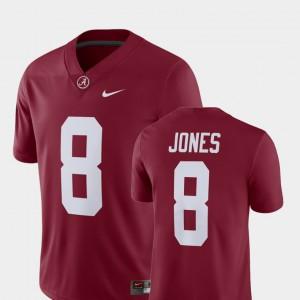 Crimson Player #8 Alumni Football Game For Men Julio Jones Alabama Jersey 521209-500