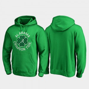 Luck Tradition Kelly Green St. Patrick's Day Mens Alabama Hoodie 286790-803