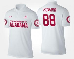 #88 White O.J. Howard Alabama Polo Mens 443005-886