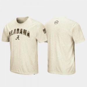 Oatmeal For Men's Alabama T-Shirt Desert Camo OHT Military Appreciation 171701-463