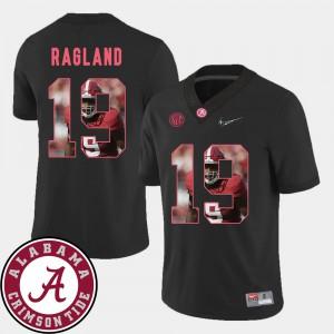 Mens Black Reggie Ragland Alabama Jersey Pictorial Fashion #19 Football 426419-589