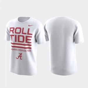 Men Local Verbiage Performance Alabama T-Shirt White 628827-432
