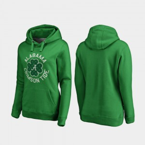 Kelly Green Luck Tradition St. Patrick's Day Alabama Hoodie For Women 401805-230